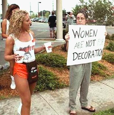 Women Are Not For Decoration
