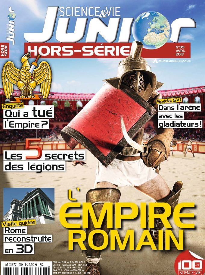 Science & Vie Junior Hors-Série N°99 Avril 2013