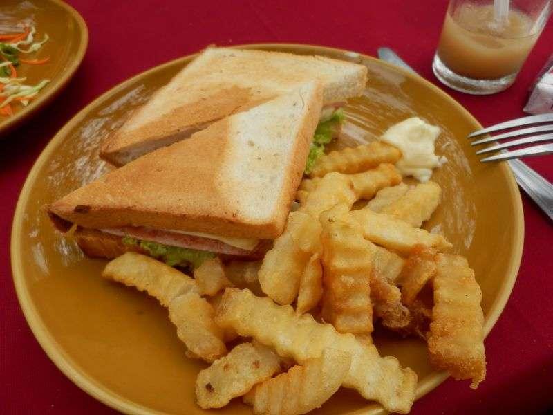 genauso schlimmes Sandwich