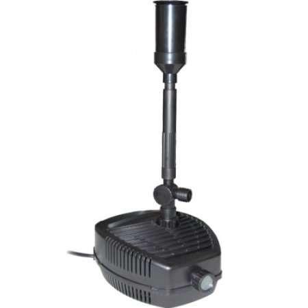 Cqp 5000f pompa laghetto sommersa con accessori fontana for Pompa ricircolo acqua laghetto