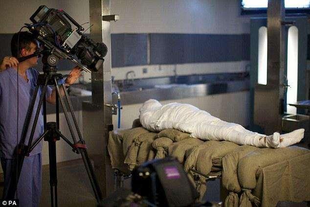 Alan Billis se ha convertido en la primera momia después de 3000 años