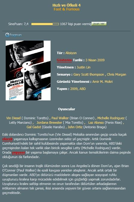 H�zl� ve �fkeli 4 - 2009 DVDRip XviD AC3 - T�rk�e Dublaj indir